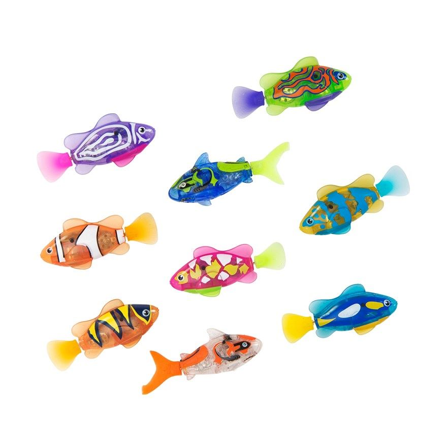 Zuru robotic robo fish water activated battery powered for Zuru robo fish