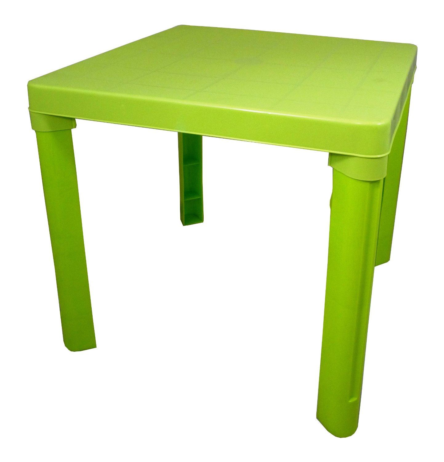 PLASTIC CHILDRENS TABLE & CHAIRS SET COLOURED NURSERY