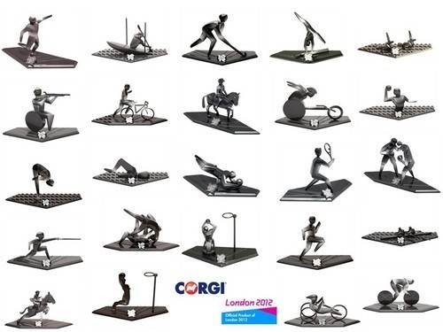 CORGI-LONDON-2012-OLYMPIC-MEMORABILIA-LIMITED-EDITION-DIECAST-PICTOGRAM