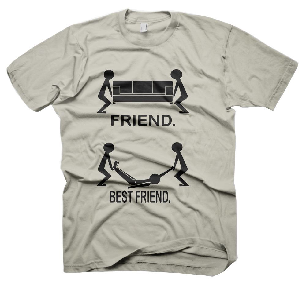 Best Friend Quotes For Shirts: Mens Funny Sayings Slogans Tshirts & Tops-Friend..Best