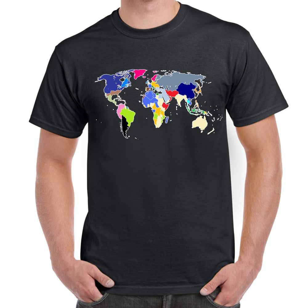 Mens funny sayings slogans t shirts world map tshirt ebay mens funny sayings slogans t shirts world map gumiabroncs Image collections