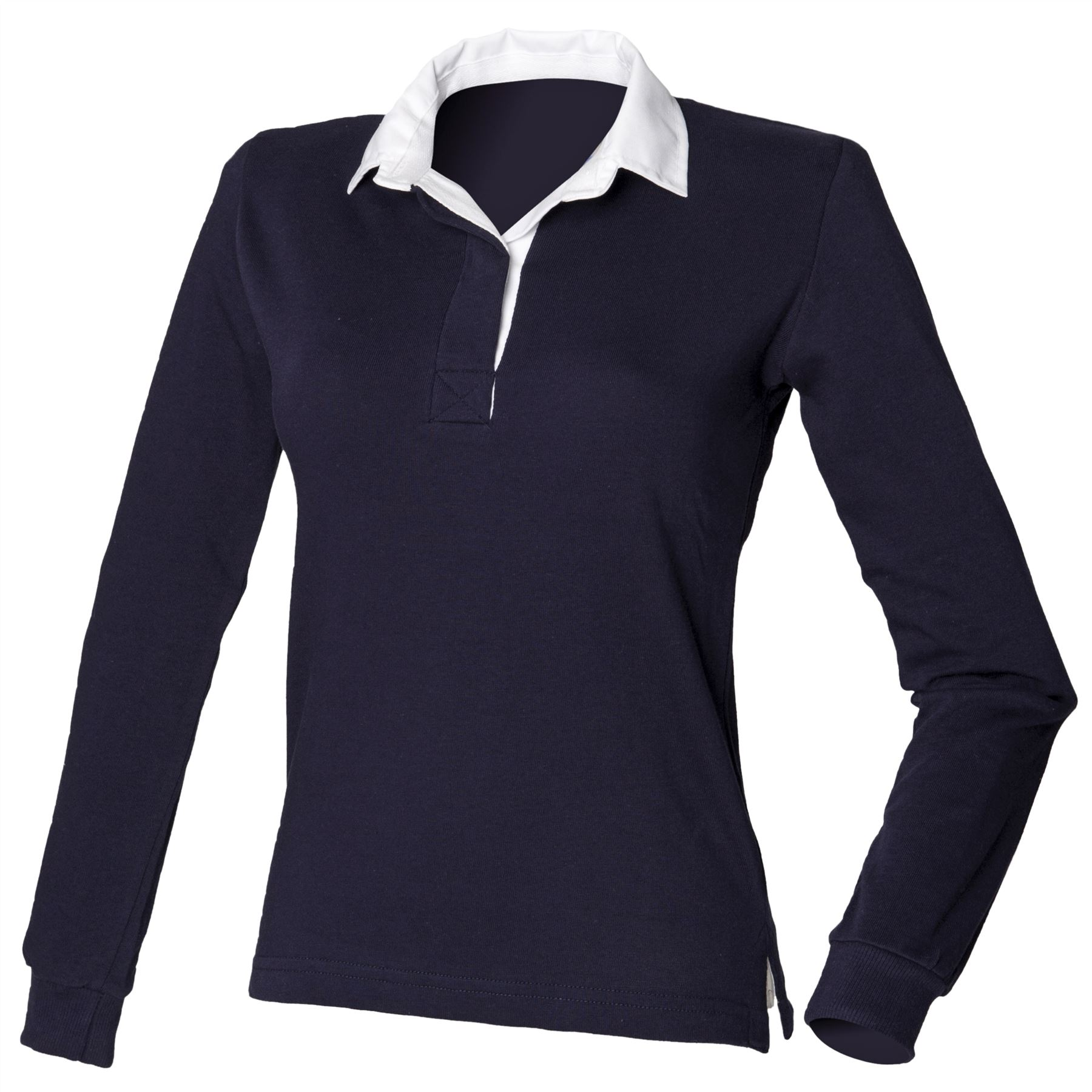 Front Row Tops Shirts Womens Long Sleeve Original Rugby