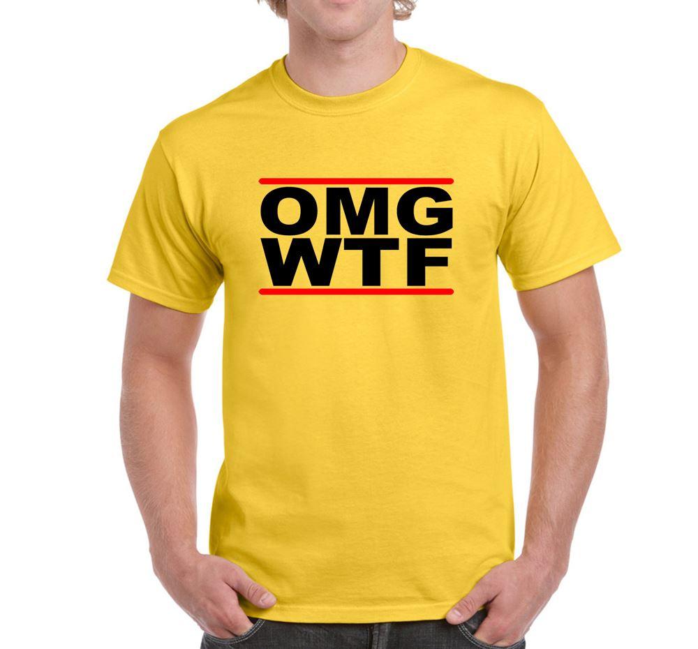 Omg Wtf Mens Funny Nove...