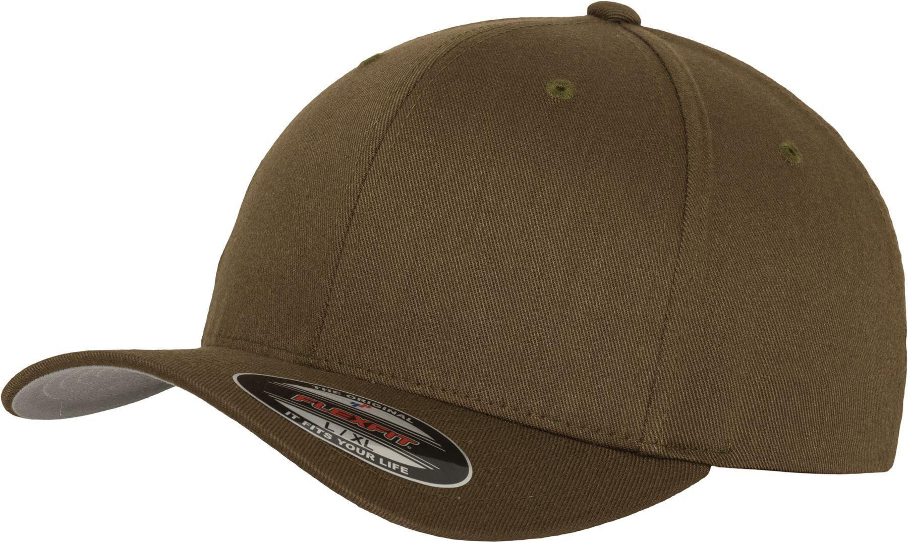 flexfit by yupoong headwear baseball caps flexfit fitted baseball cap. Black Bedroom Furniture Sets. Home Design Ideas