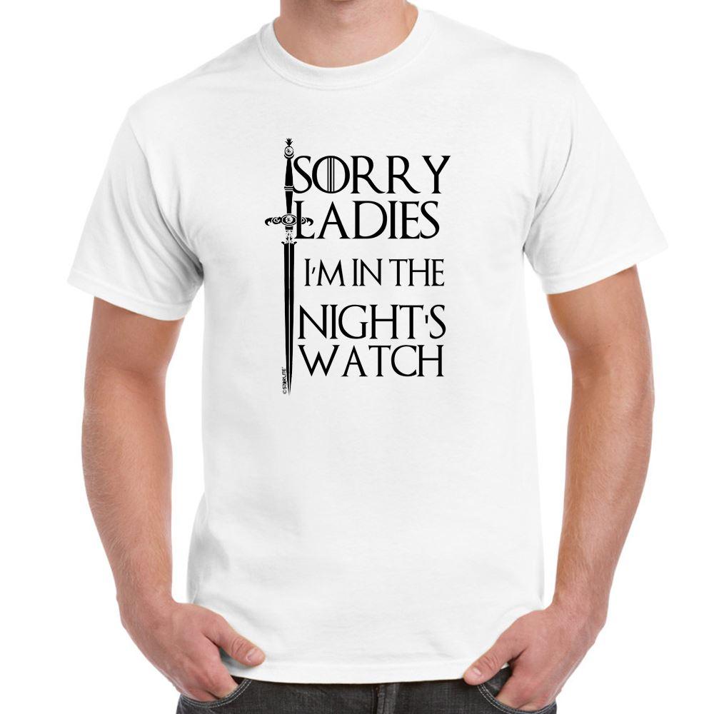 mens funny sayings slogans t shirtsim in nights watch