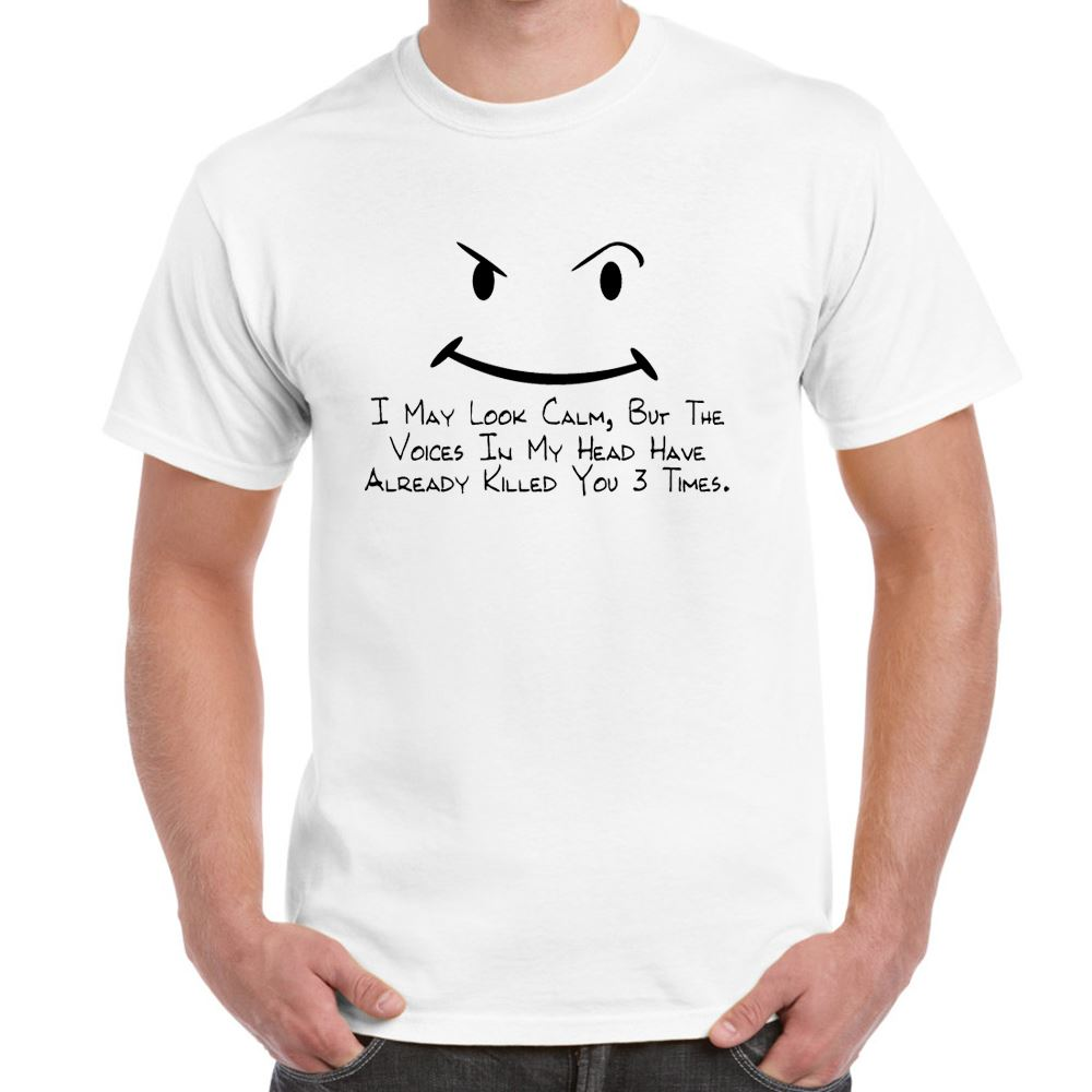 T-shirts with funny text and sayings. Just text only in here so if you want funny t-shirts with designs you should go to our funny t-shirts.