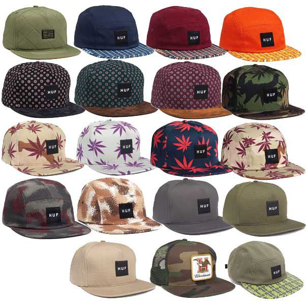 HUF APPAREL CAPS GENUINE 2013 SNAPBACK 5 PANEL TRUCKER SKATE STREET ... d46fada70d5