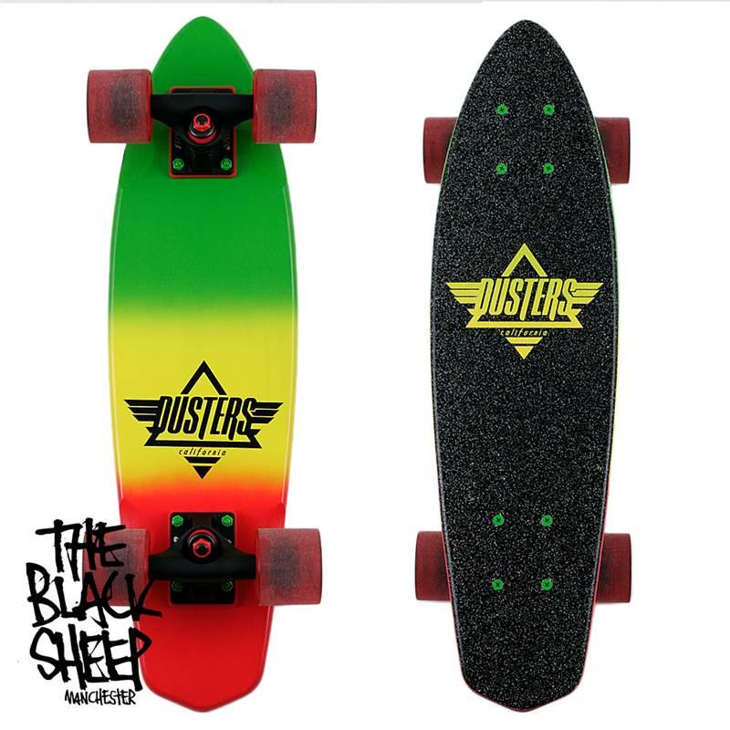 Dusters Skateboards Ace Cruiser Rasta 24 Inch Old School