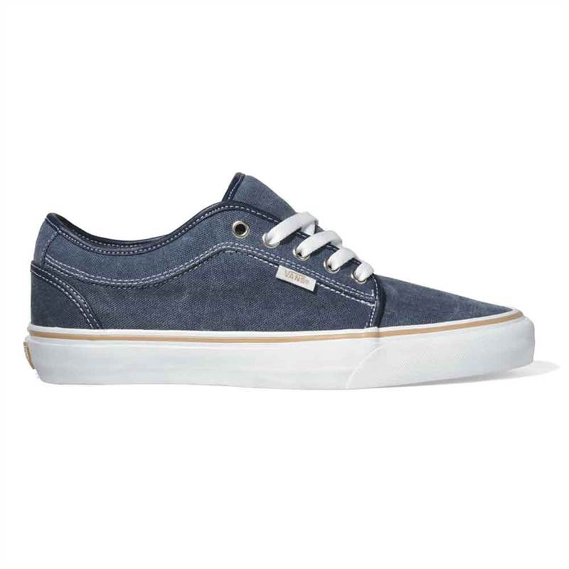 chaussure skate vans off the wall chukka tennis bleu. Black Bedroom Furniture Sets. Home Design Ideas