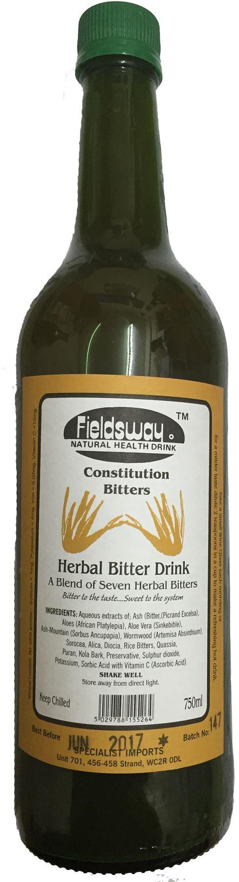 Fieldsway Constitute Bitters Herbal Bitter Drink 750ml   eBay
