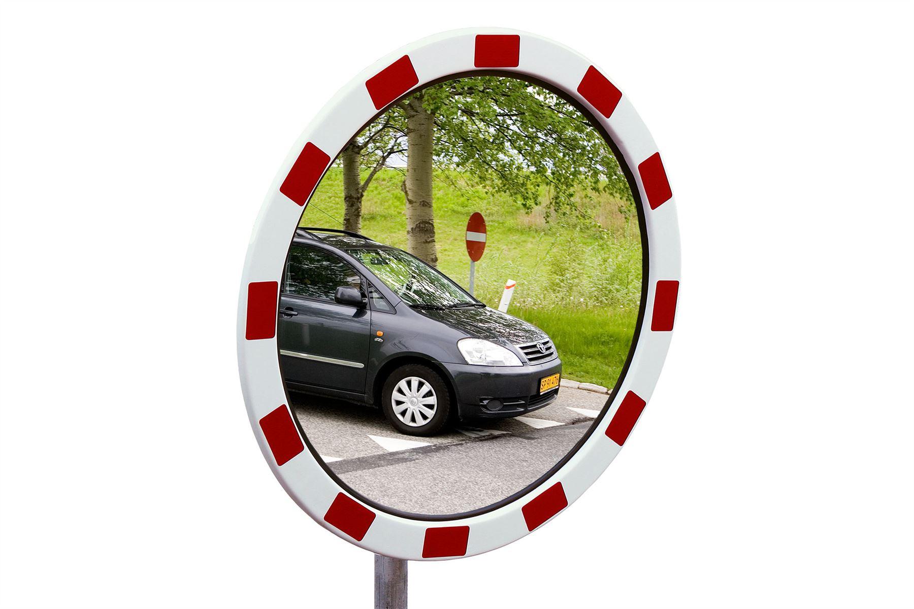 Miroir de s curit standard acier inoxydable ebay for Force de miroir ebay