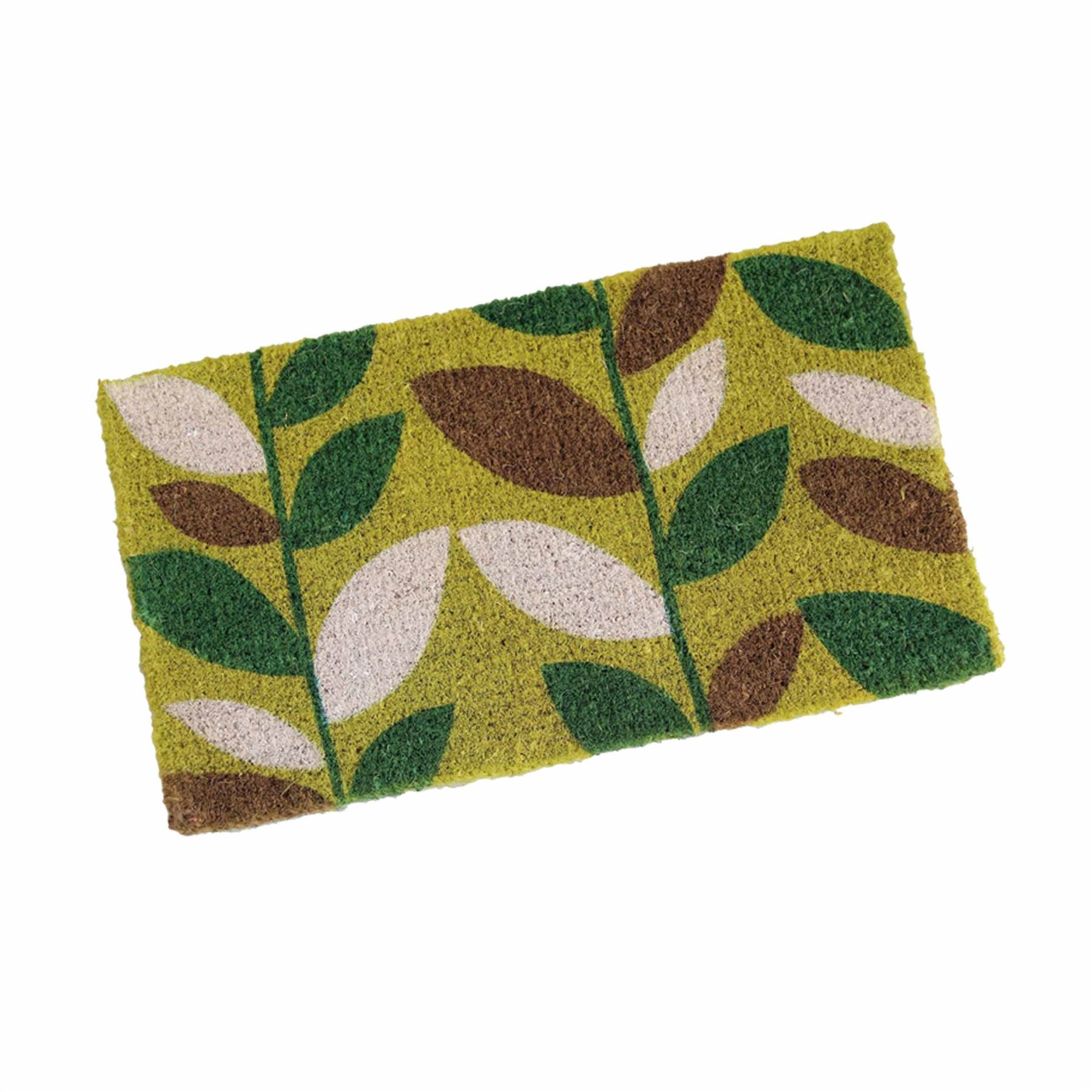 Novelty natural coir door mat indoor outdoor entrance doormats rug homescapes ebay - Novelty welcome mats ...
