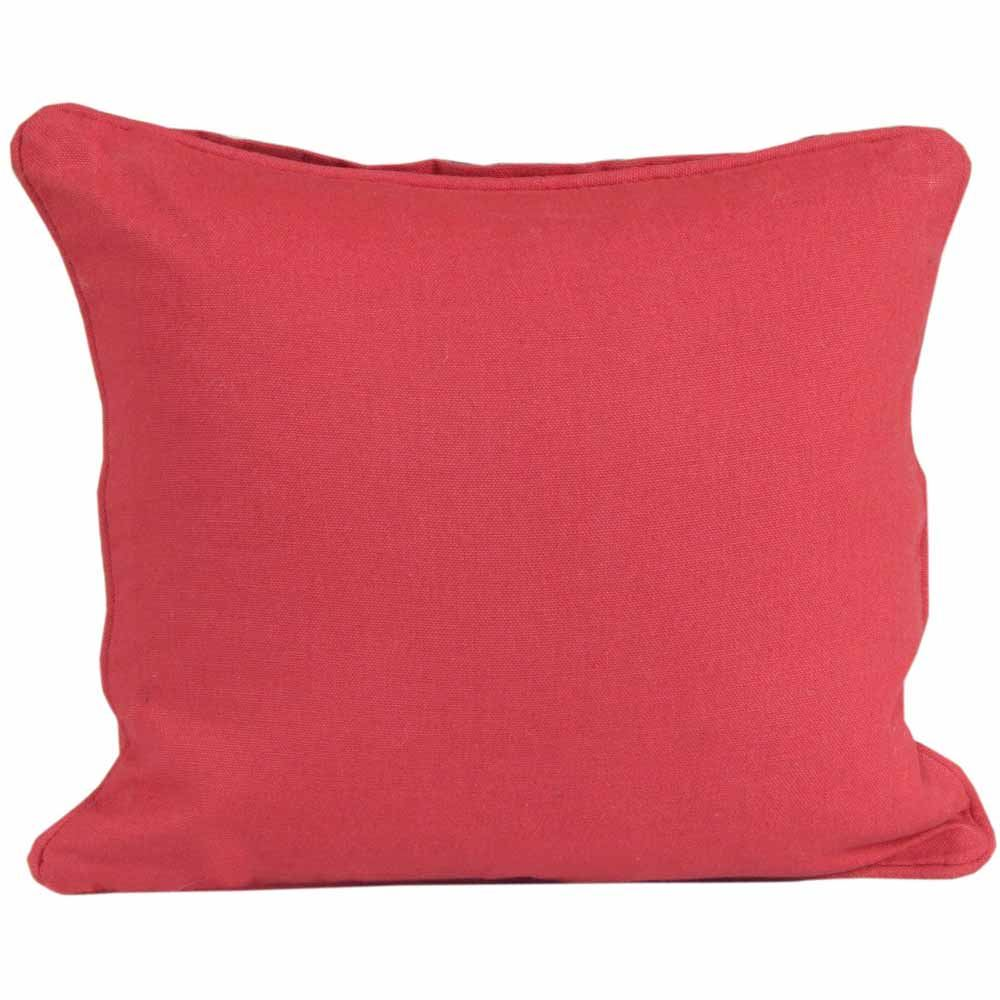 Homescapes 100% Cotton Plain Filled Cushion Covers Square Rectangular Washable