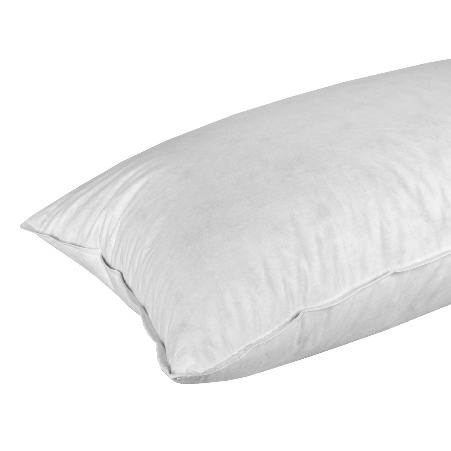 Duck feather and down continental pillow 100 cotton for Duck or goose feather pillows which is better
