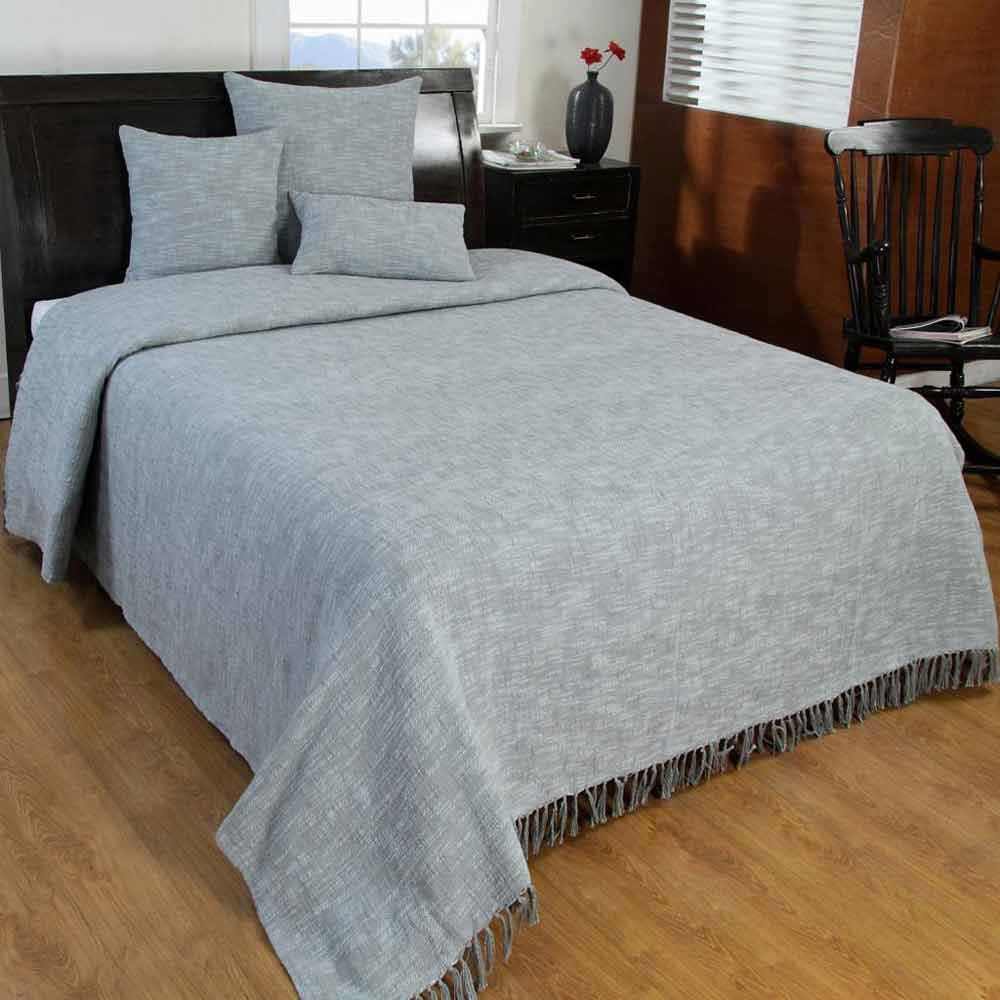 Grey Handwoven Large Throw Bedspread Sofa Bed Blanket  : 92add5e3 ce09 4397 a677 56271648576e from ebay.co.uk size 1000 x 1000 jpeg 94kB