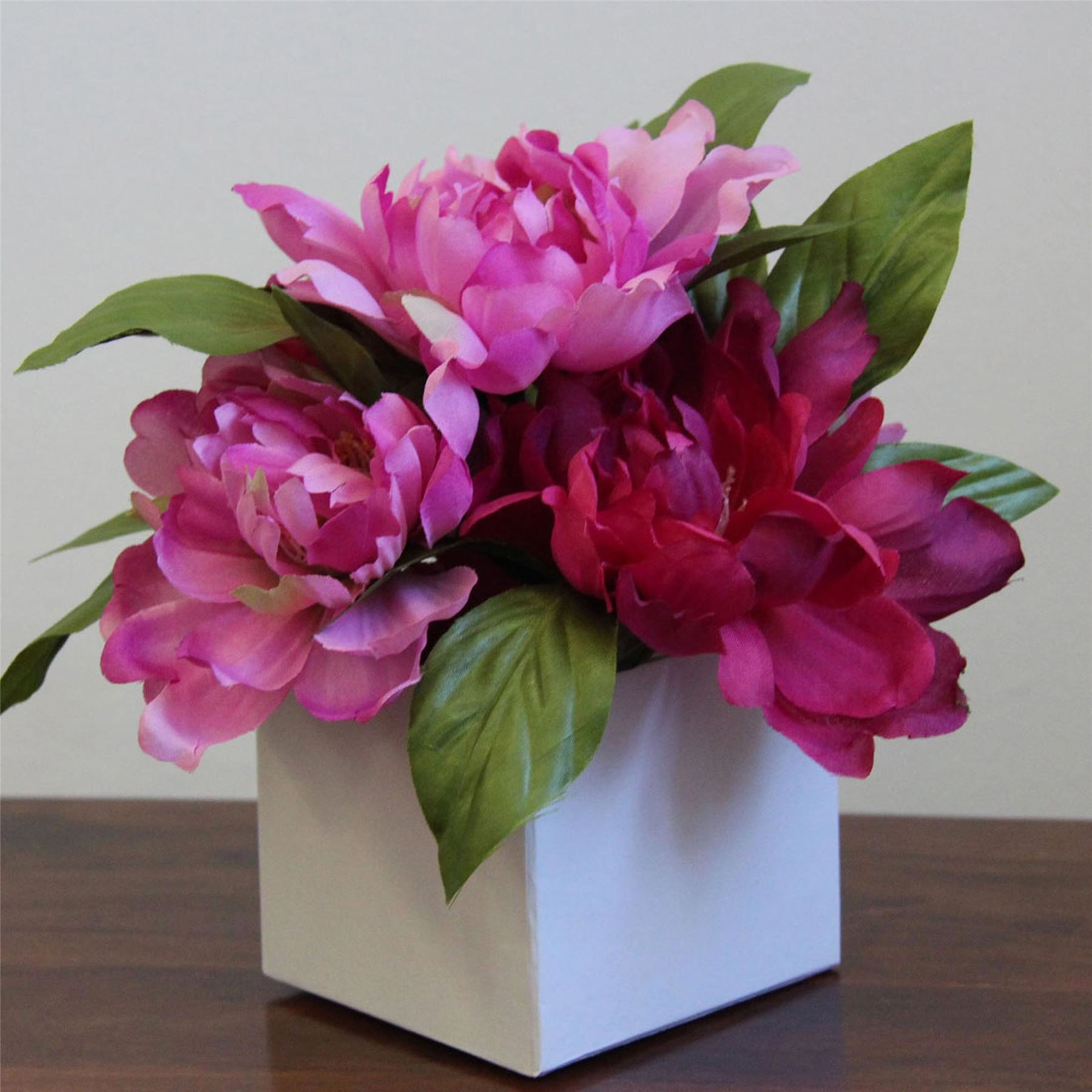 Silk Flower Arrangements Uk Only In Vases Faux Vase