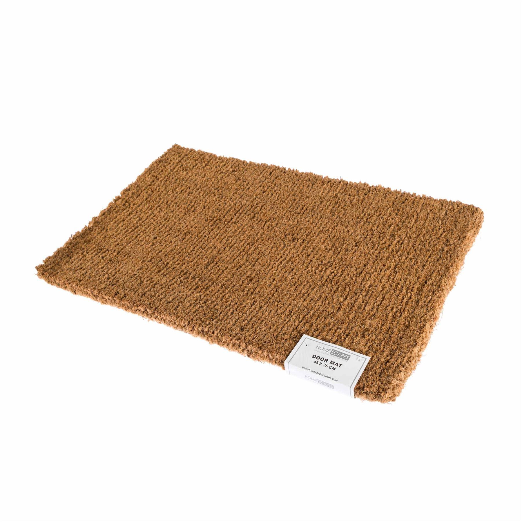 Coir Rubber Door Mat Indoor Outdoor Use Large Wrought Iron