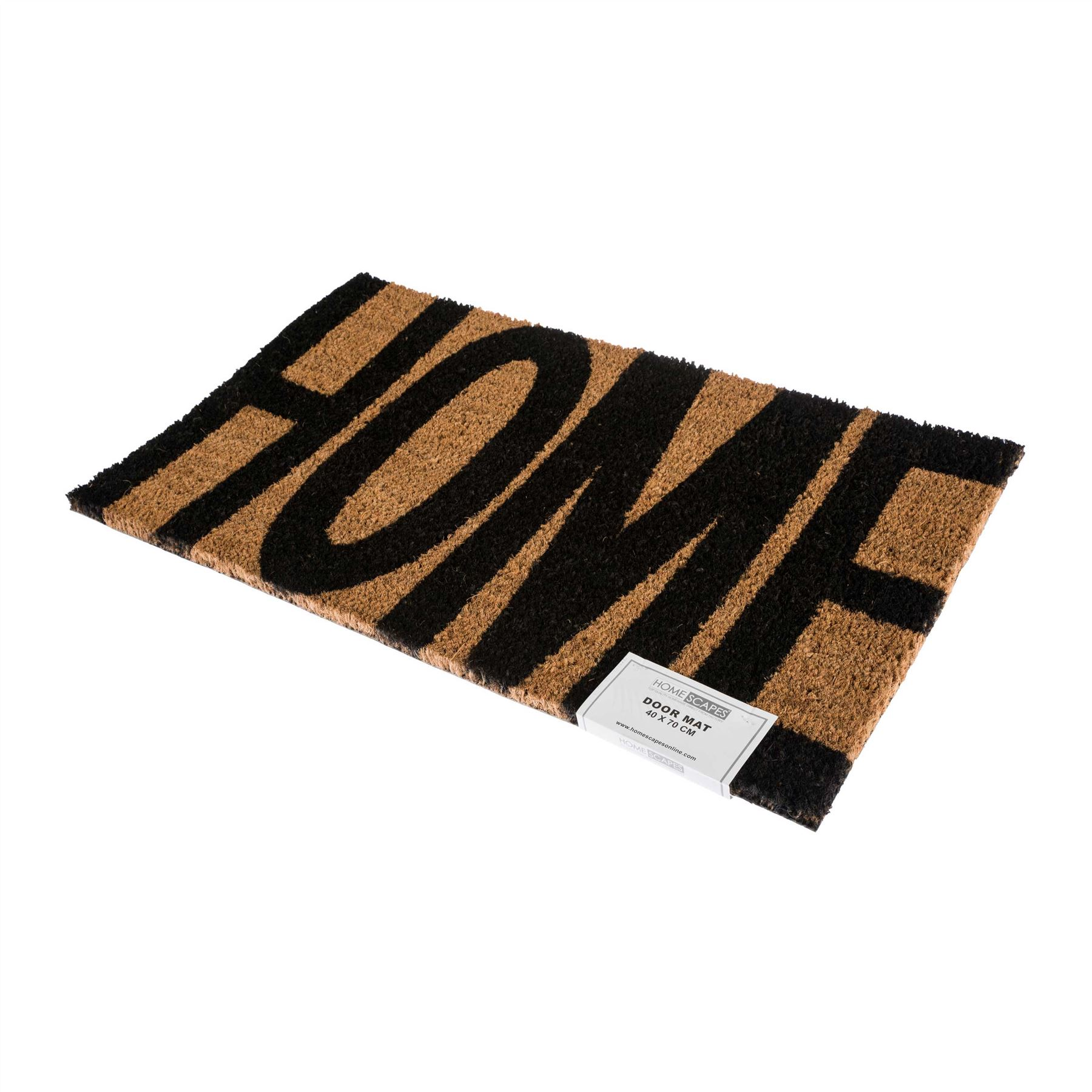 Novelty natural coir door mat heavy duty indoor outdoor floor entrance doormats ebay - Novelty welcome mats ...