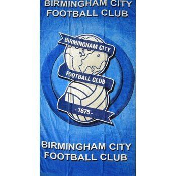 official birmingham city football club 100 cotton beach towel 75cmx140cm ebay. Black Bedroom Furniture Sets. Home Design Ideas
