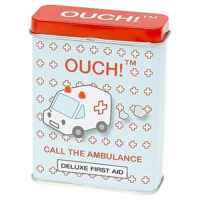 Ouch-Novelty-Plasters-24-Assorted-Adhesive-Bandages-Absorbent-Pad-First-Aid