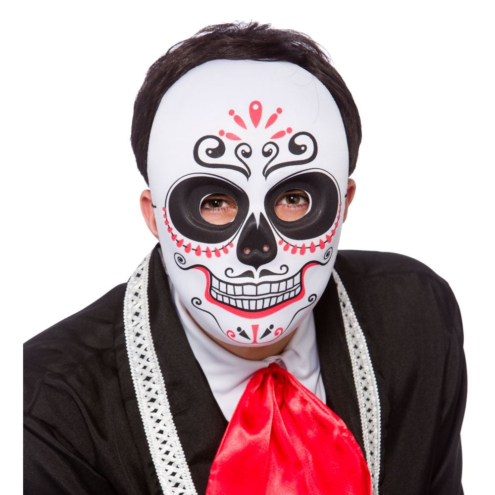 Day Of The Dead Halloween Mask