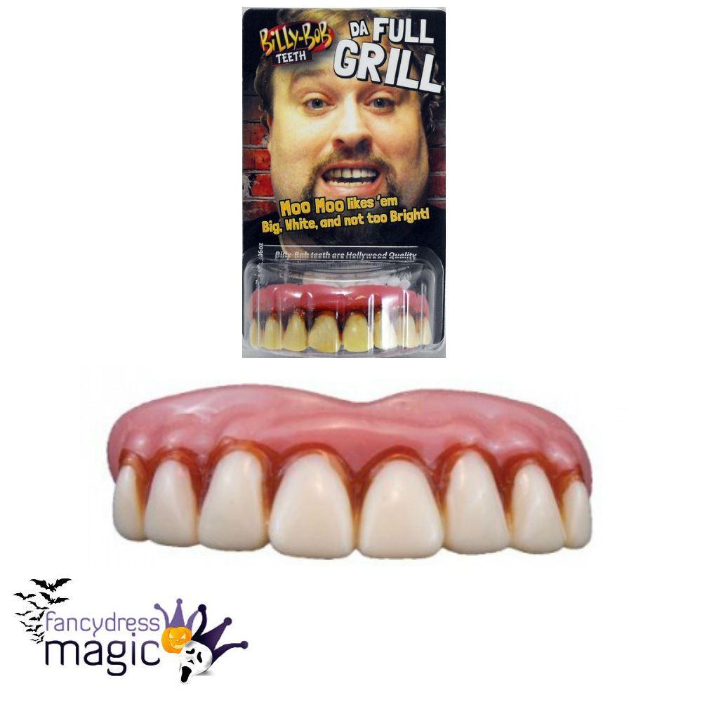 Traitement Anti Humidite Chambre : Billy Bob Halloween Horror Fancy Dress Dental False Fake