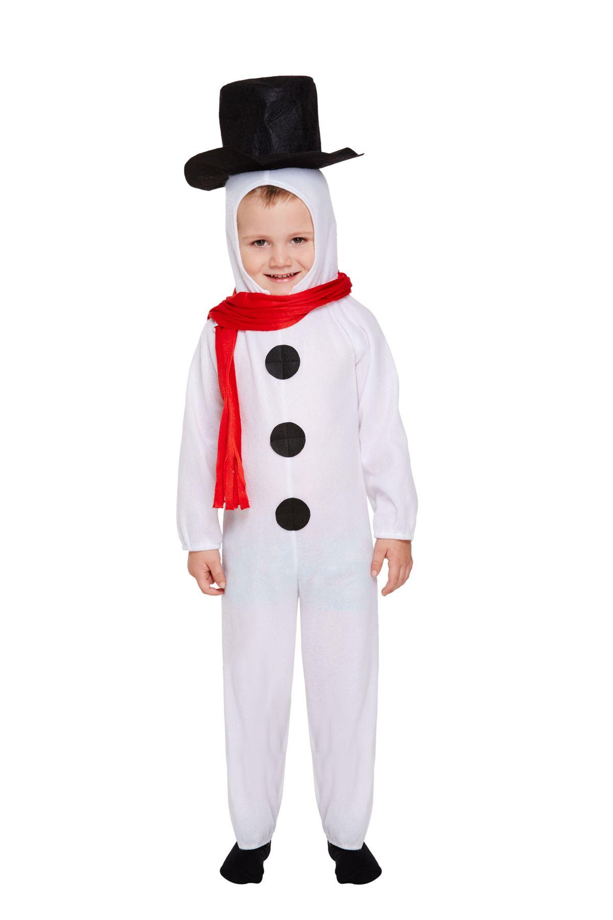 child boys girls xmas christmas snowman jumpsuit jack