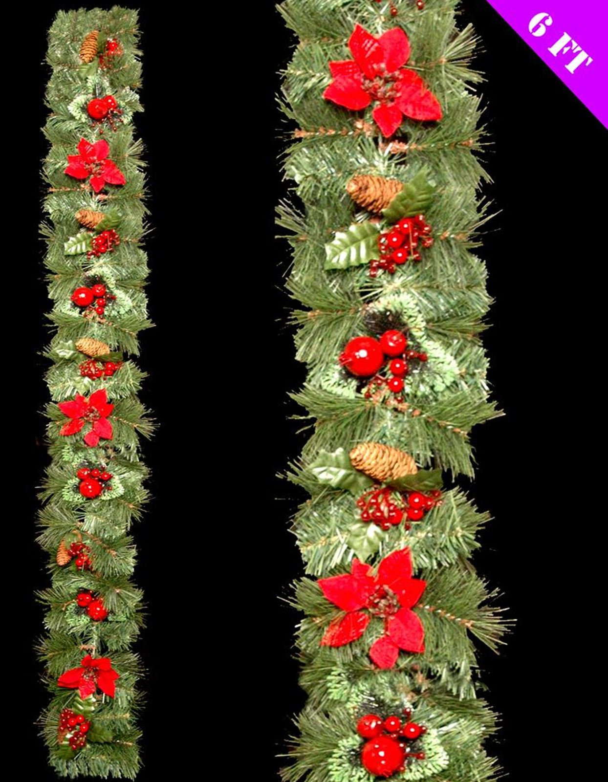 luxury christmas garlands uk