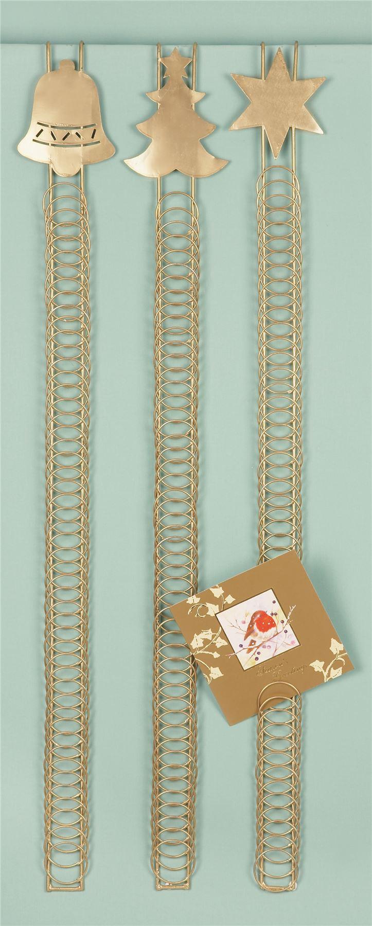 90cm 50 Card Over Door Card Holder Xmas Christmas Hanging