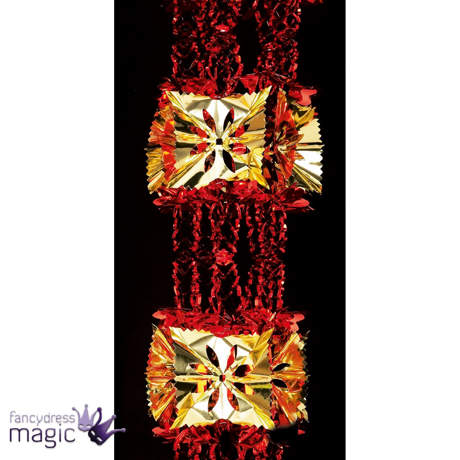 Foil luxury garland large foil christmas xmas for B m xmas decorations