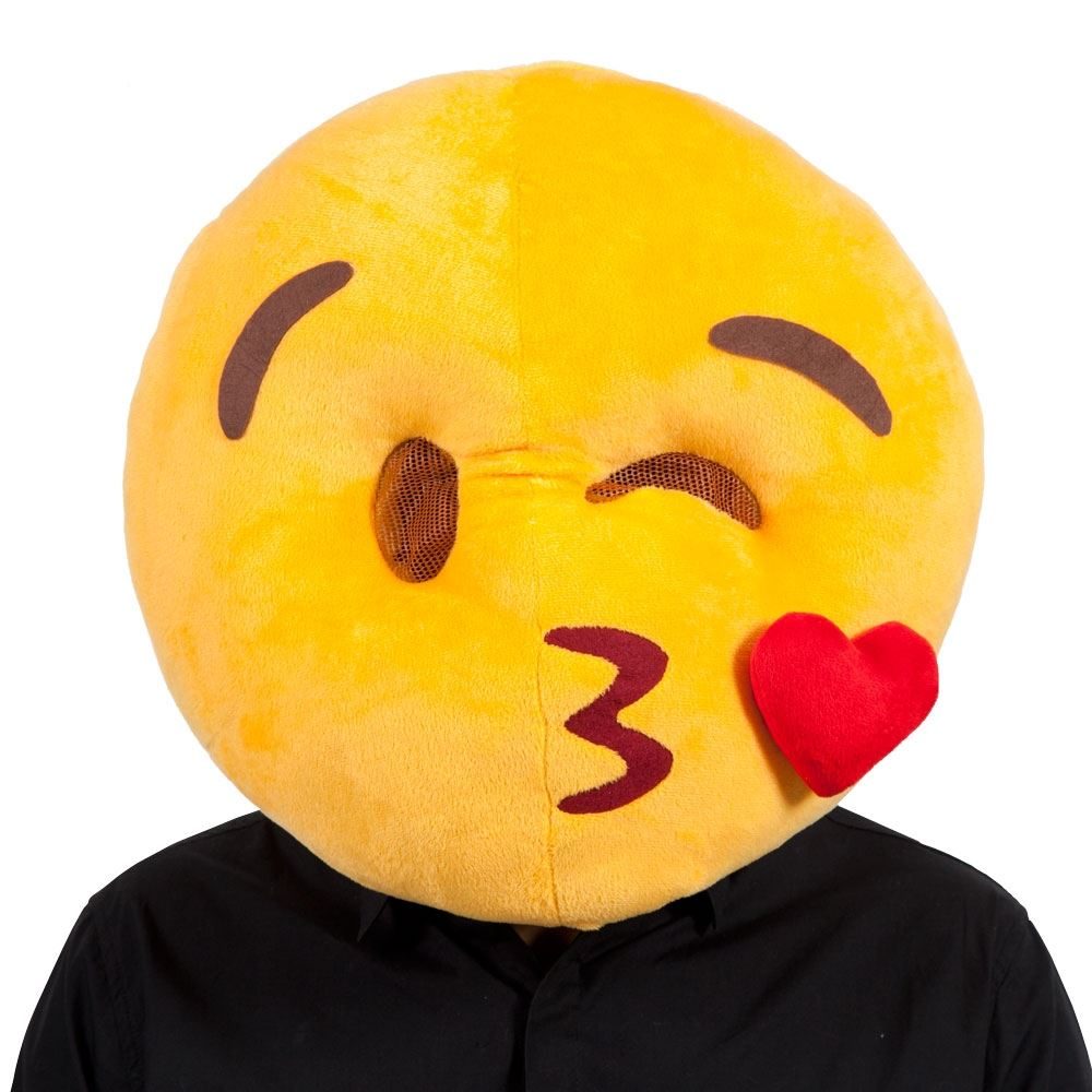 Smiley face adult costume