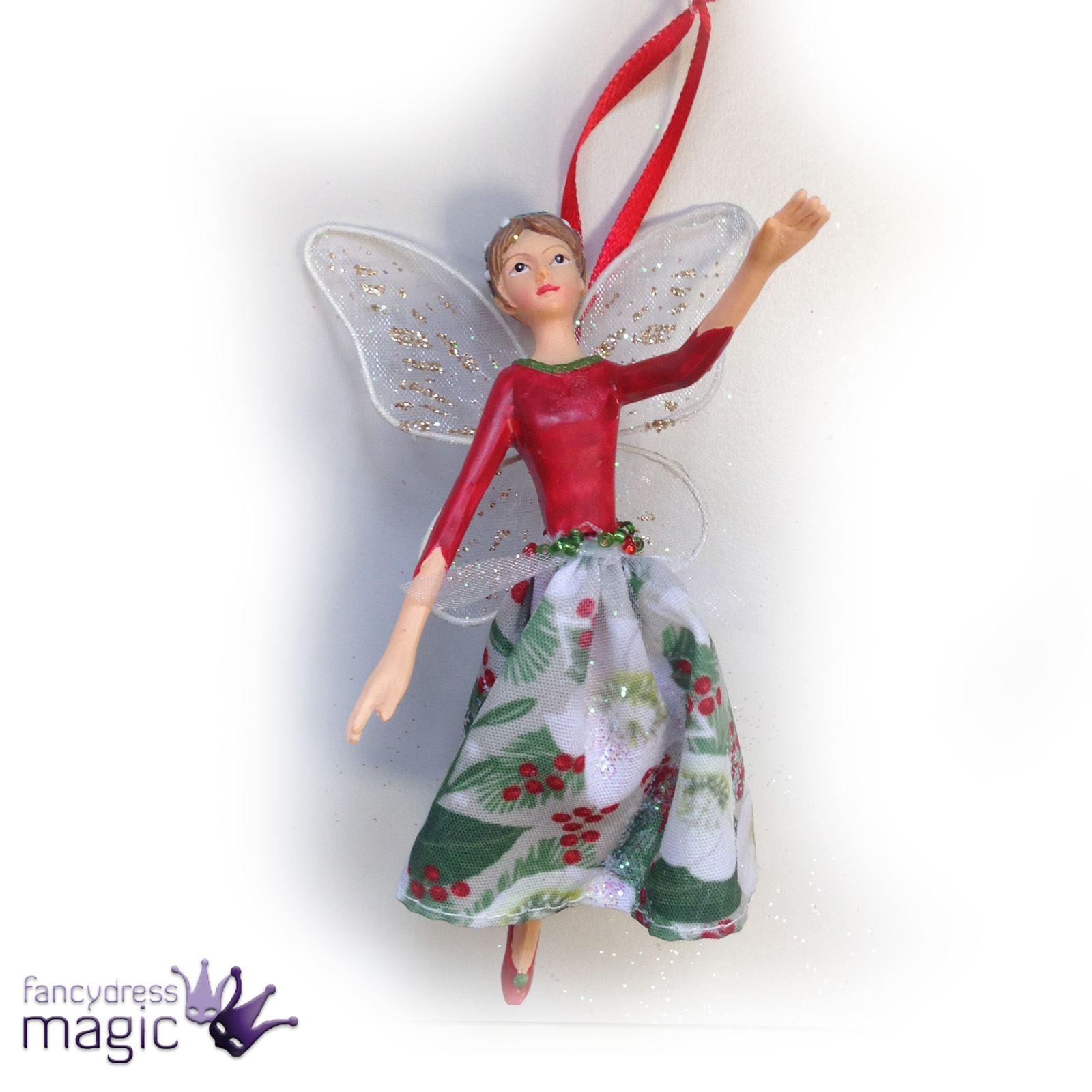 Christmas Fairy Decorations: *Gisela Graham Christmas Xmas Hanging Tree Home Decoration
