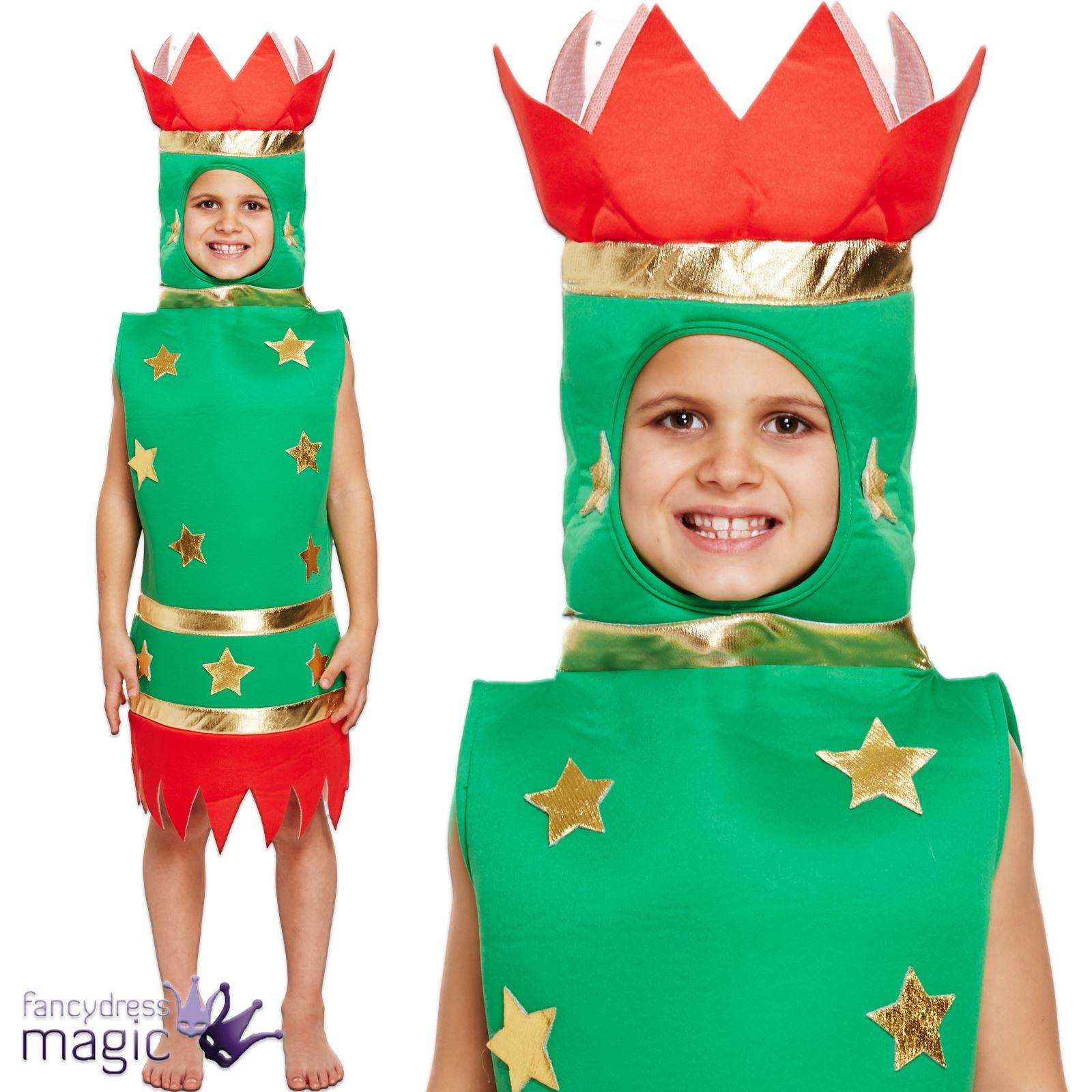 how to make a christmas cracker costume