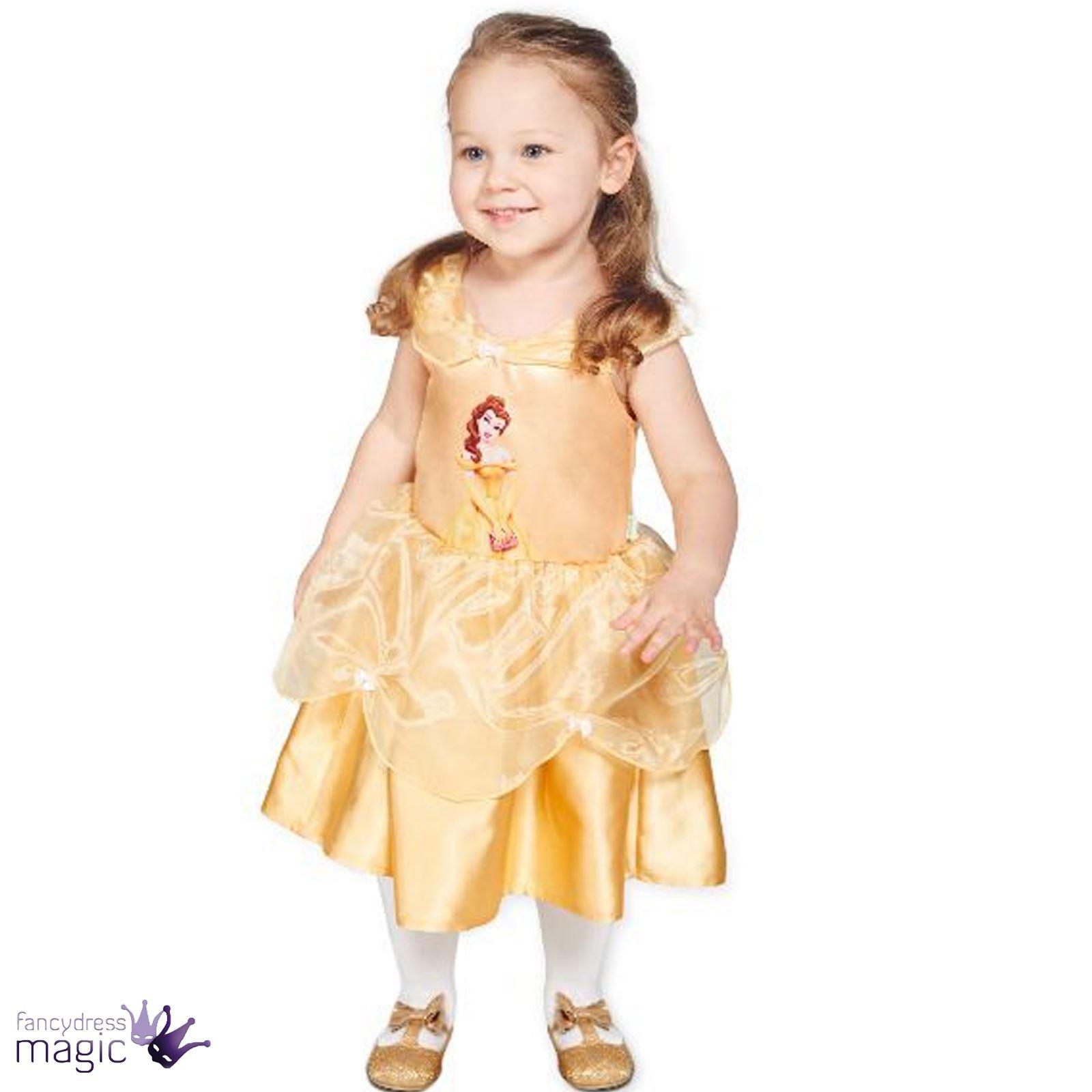 Baby toddler disney princess fairy tale dress up fancy dress costume