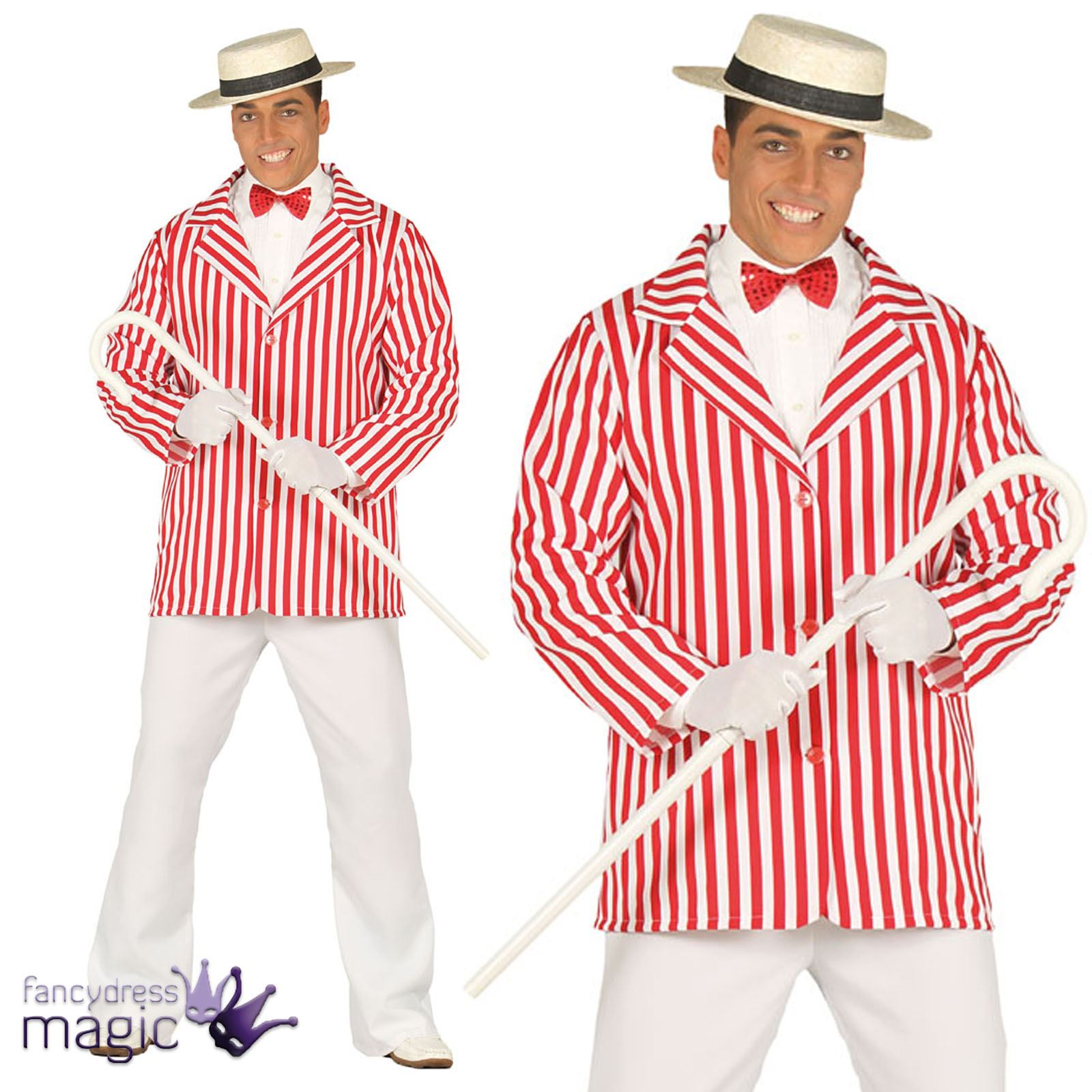 Barbershop Quartet Costume : ... Barbershop Quartet Bert Mary Poppins Fancy Dress Costume Outfit eBay