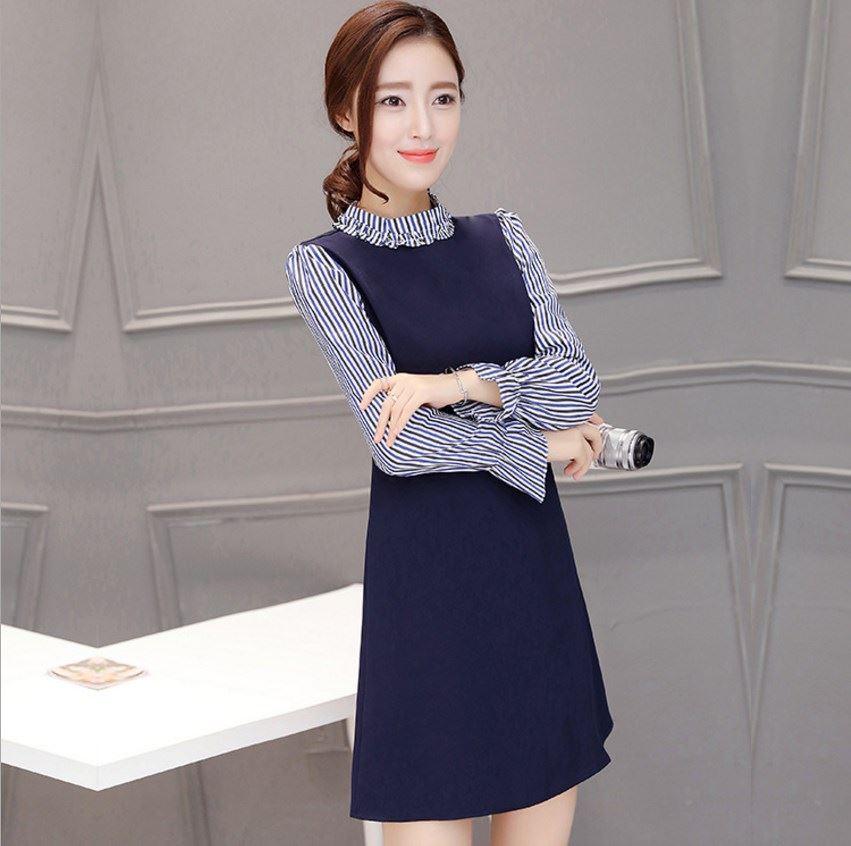 New 2017 Women's Dress Korean Style Ladies A Shape Skirt