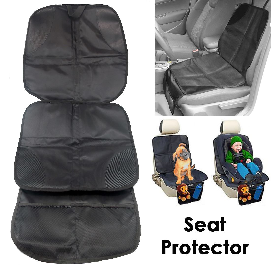 black car auto baby infant child pet seat accessories protector safety cushion ebay. Black Bedroom Furniture Sets. Home Design Ideas
