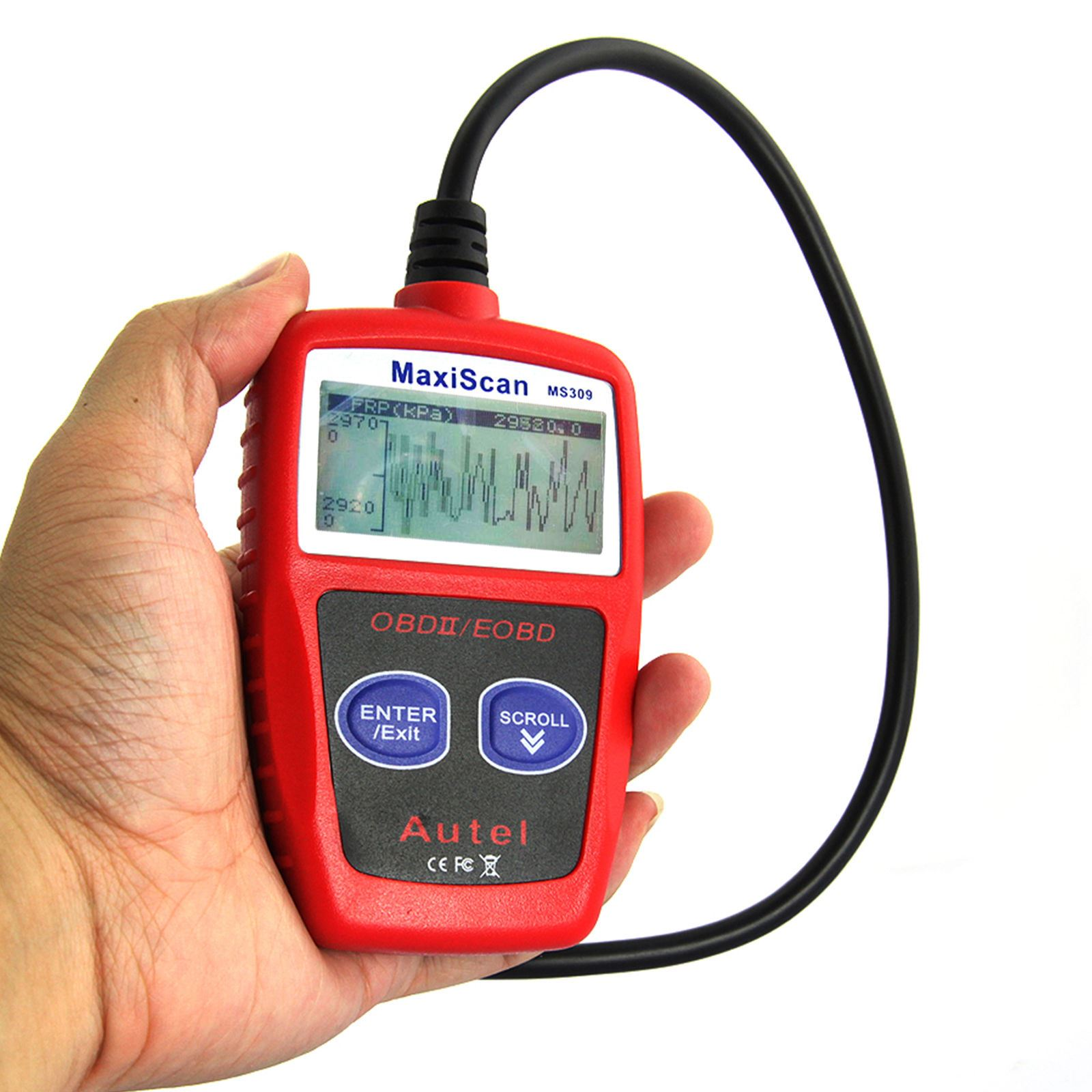 B2600i Retrieving Check Engine Light Cel Codes: CAR Fault Code Reader Engine Diagnostic Scanner Reset Tool