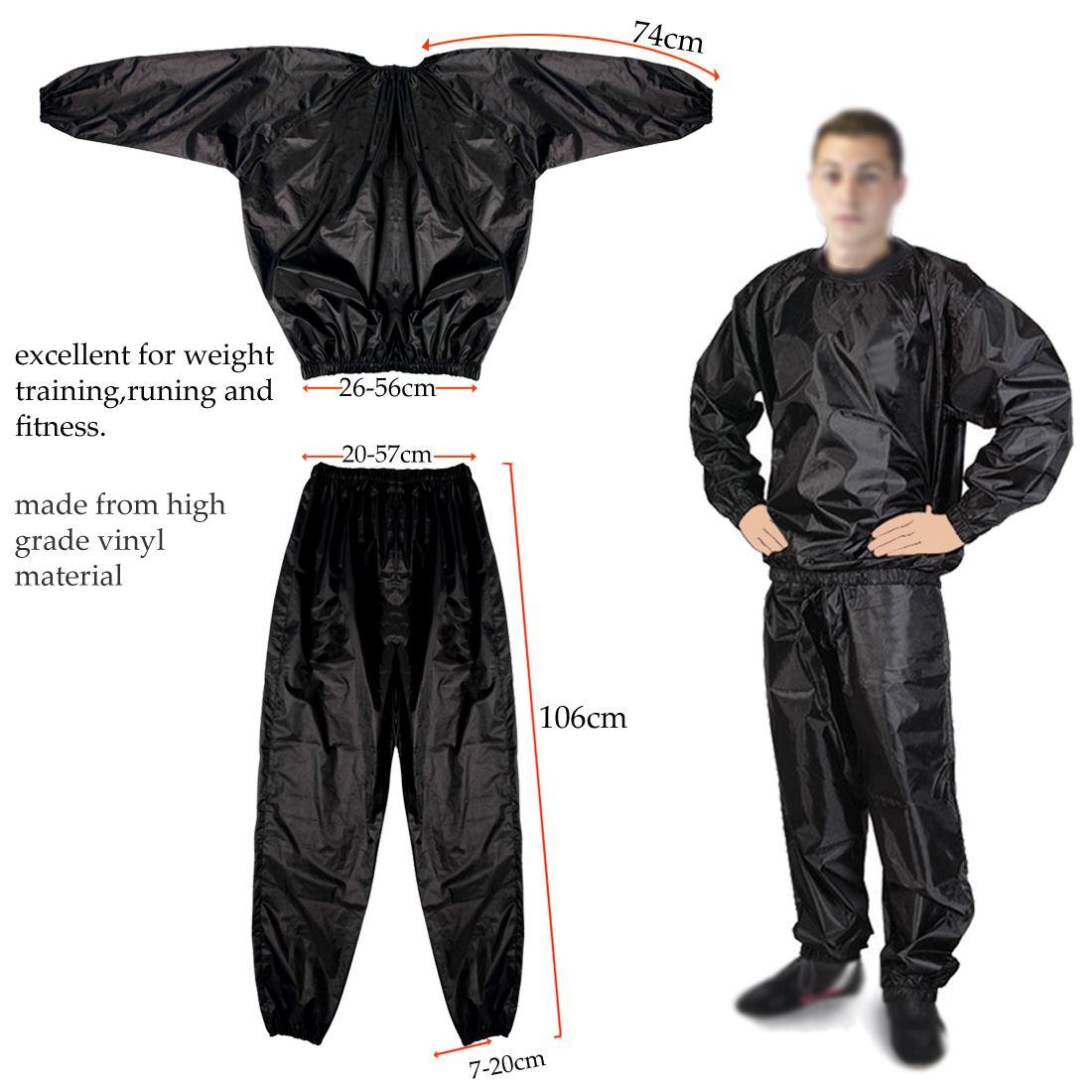 Heavy Duty Sweat Suit Sauna Suit Exercise Gym Suit Fitness