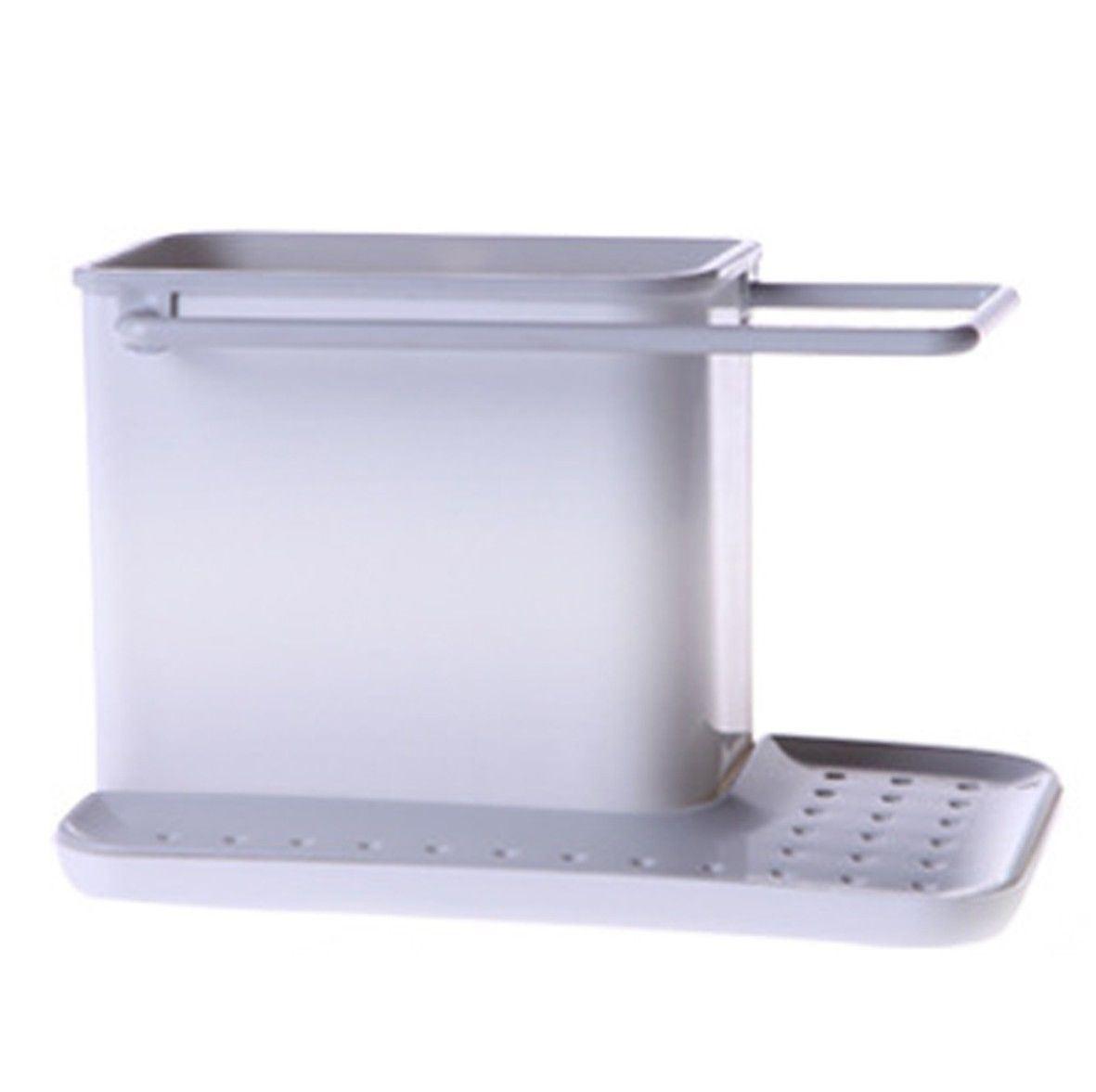 Plastic Sink Caddy Organizer Space Storage Racks Cabinet