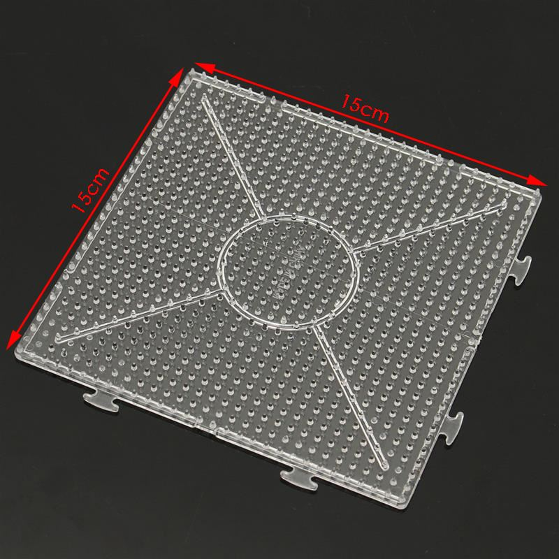 4pcs 145x145mm abc clear square large pegboards board for