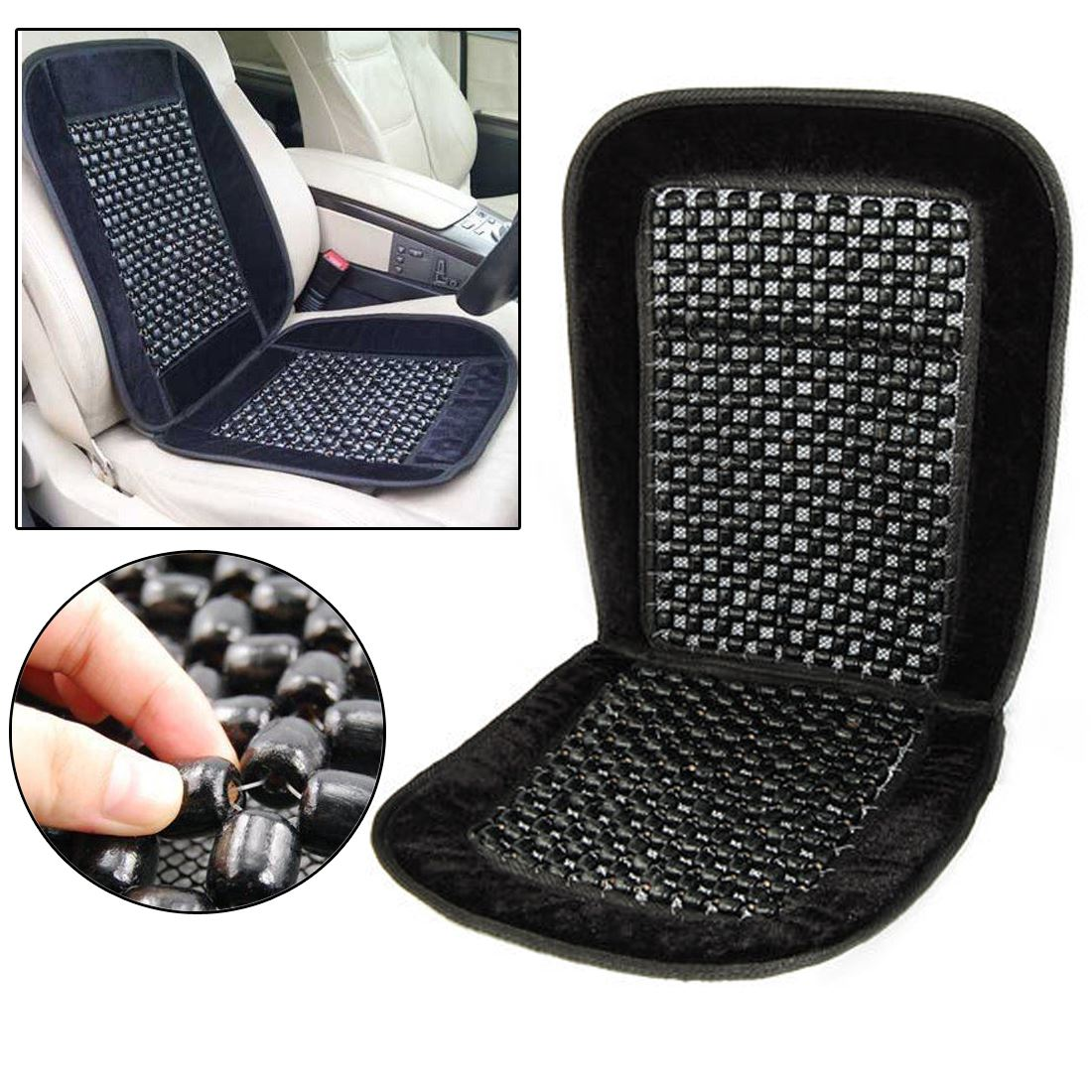 car taxi beaded car seat cover interior
