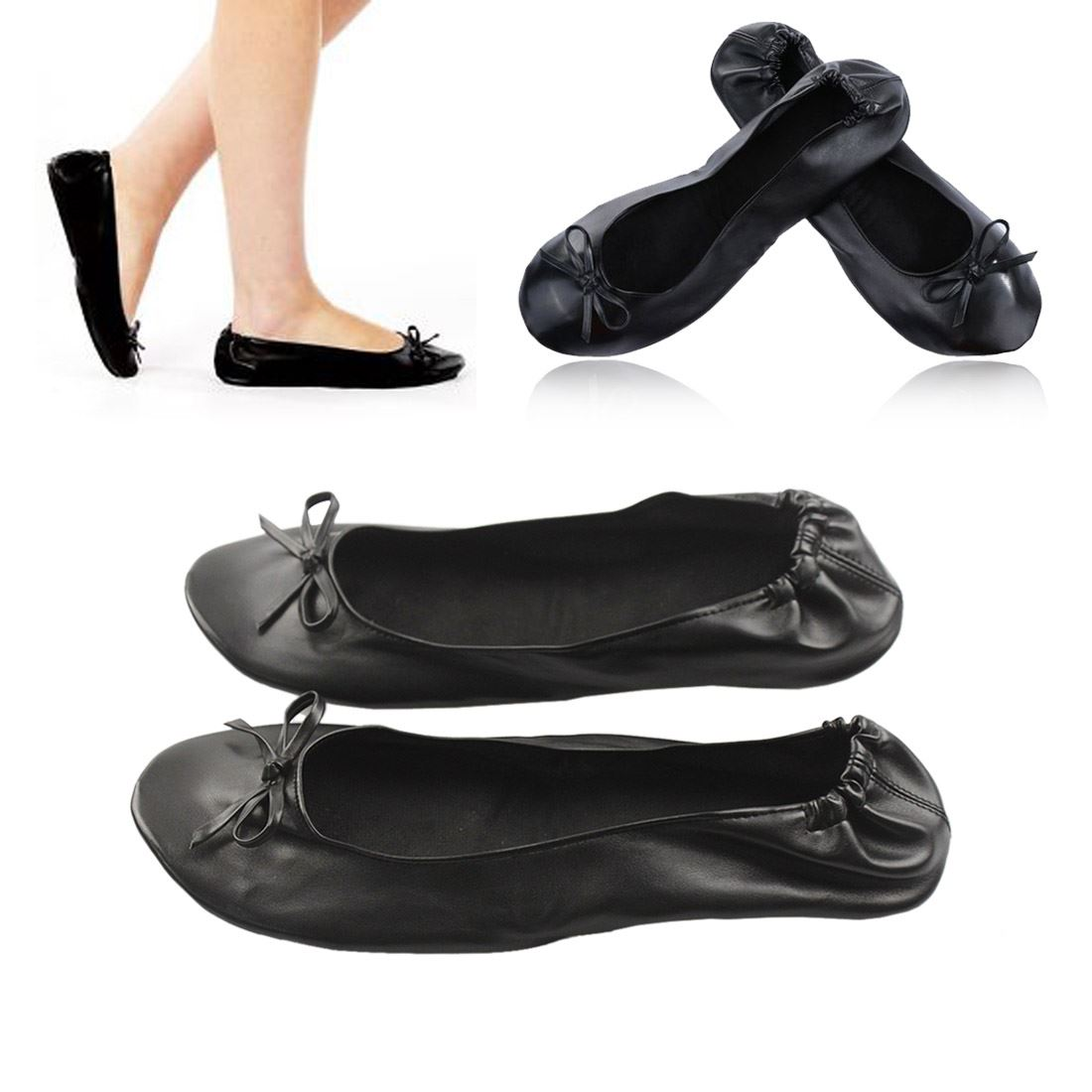 Spare Soles® are compact, rollable, roll up, foldable, take-anywhere flats that fit in the smallest of purses or pockets. when your feet have had enough but you haven't. Spare Soles® stretchy fashionable accommodates tired and swollen feet.