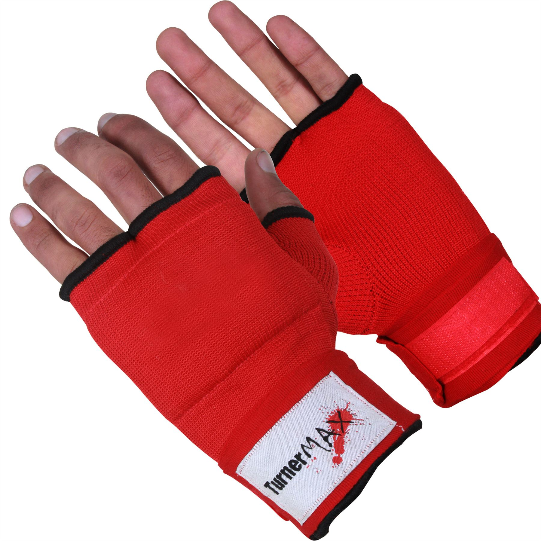 Fitness Inner Gloves: TurnerMAX Cotton Muay Thai Inner Gloves Boxing Training