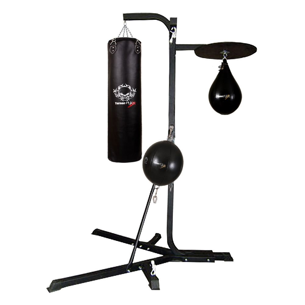 Turnermax 3 Way Boxing Punching Stand Speed Ball Double