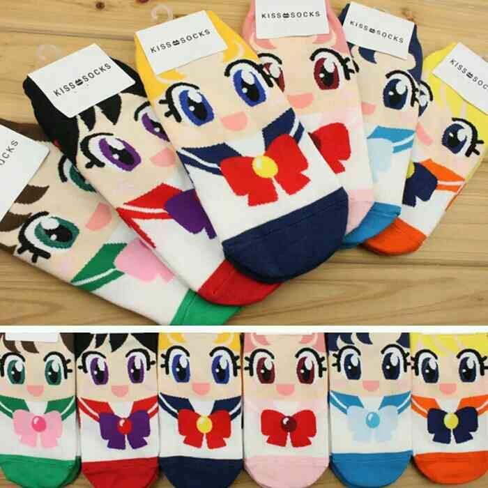 Sailormoon Sailor Moon 20th anniversary Womens Socks Chaussettes