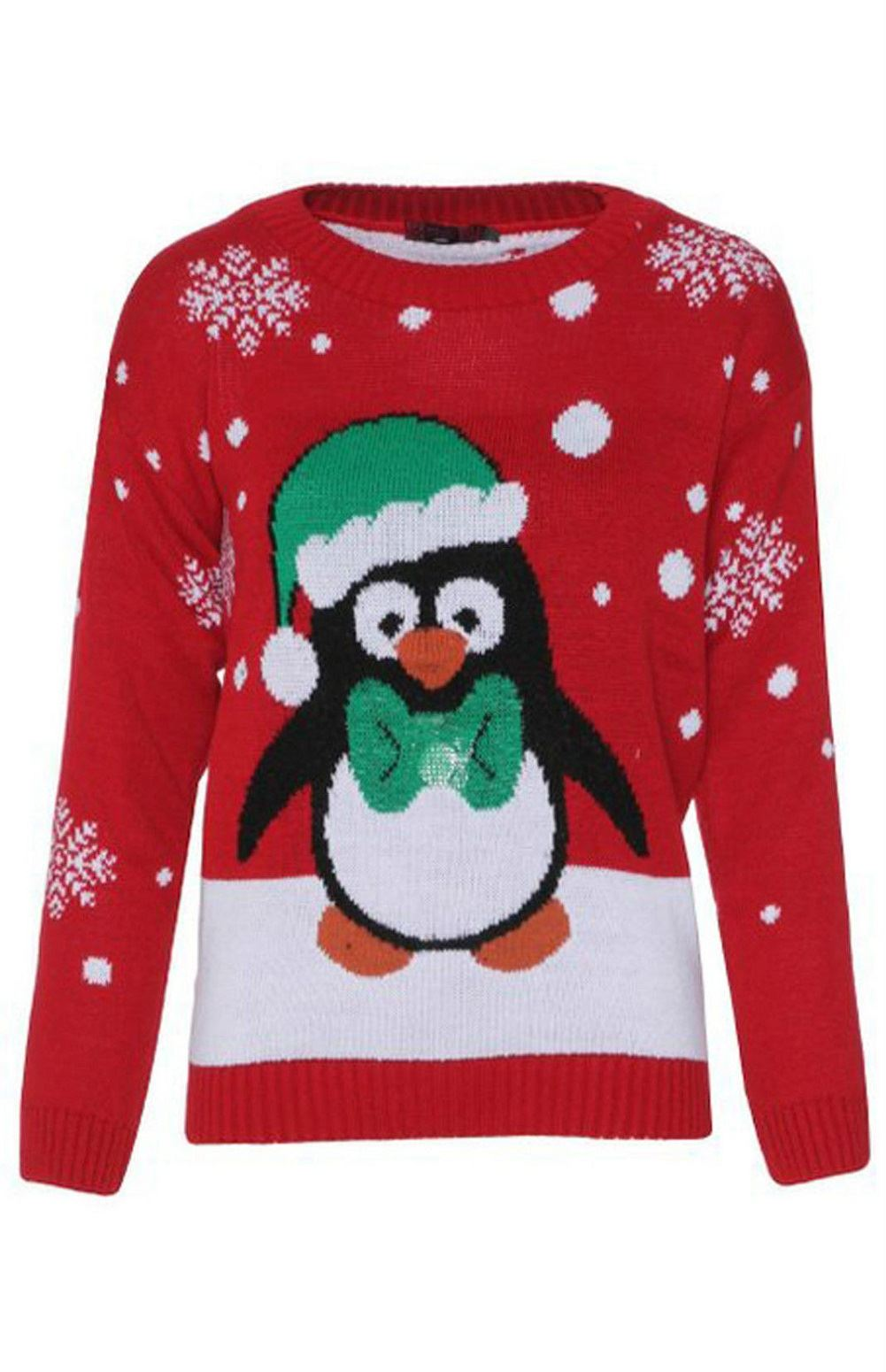 Browse a wide variety of Christmas Jumpers featuring reindeer, snowman, robin, fairisle & 3D designs. We have novelty and funny jumpers as well light up jumpers for something that truly stands out. Choose from kids, men's and women's jumpers in a range of sizes.