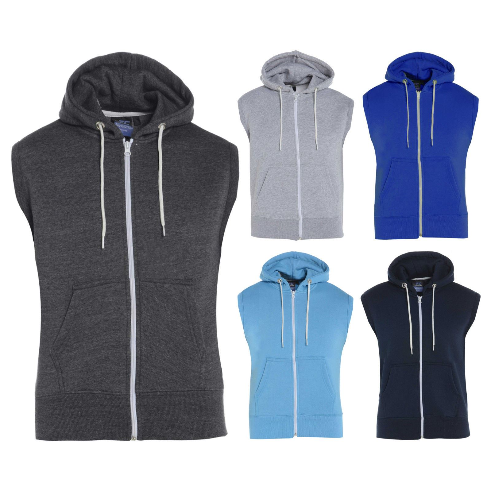 Sleeveless Hoodie For Boys | Fashion Ql