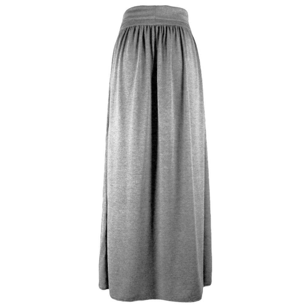 Summer Draped stretch-jersey maxi skirt by Rick Owens Lilies Más Find this Pin and more on Skirting the Issue! by Deanna Quintana. I'm not usually a long skirt fan, but would totally rock this.