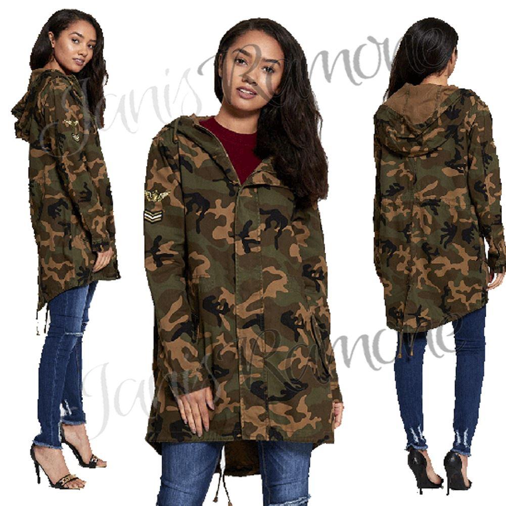 Camo Military Parka Jacket Covu Clothing